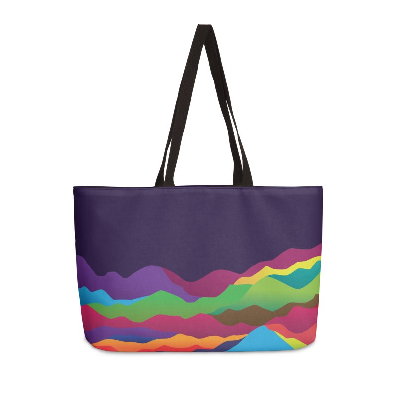 Mountains of Sand Accessories Weekender Bag Bag by Joe Van Wetering