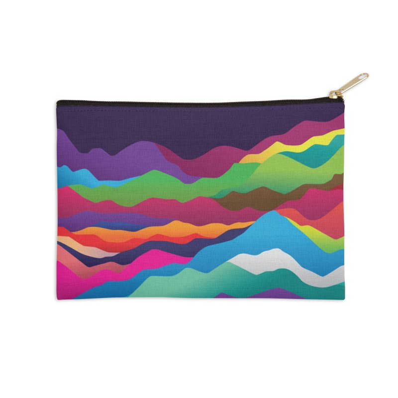 Mountains of Sand Accessories Zip Pouch by Joe Van Wetering