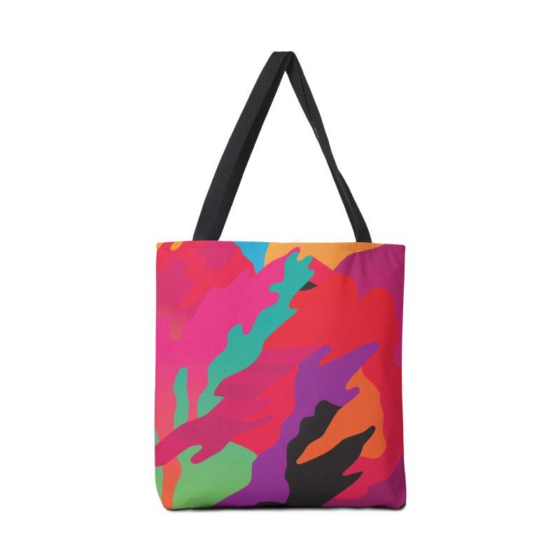 Pop Destruction Accessories Tote Bag Bag by Joe Van Wetering