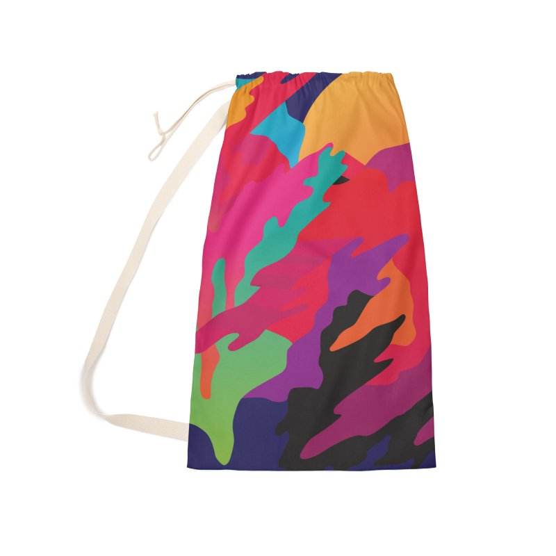Pop Destruction Accessories Laundry Bag Bag by Joe Van Wetering
