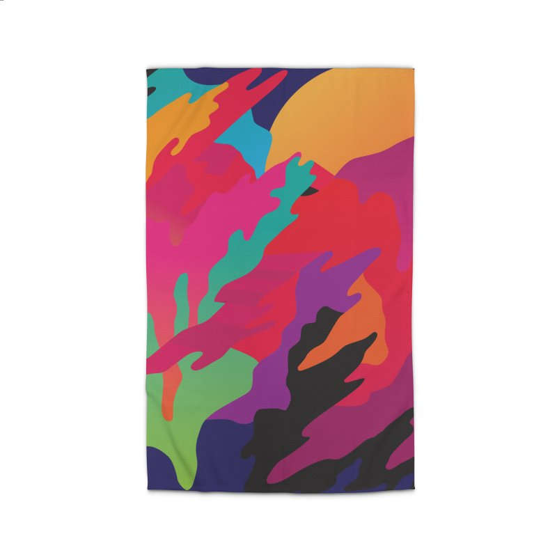 Pop Destruction Home Rug by Joe Van Wetering