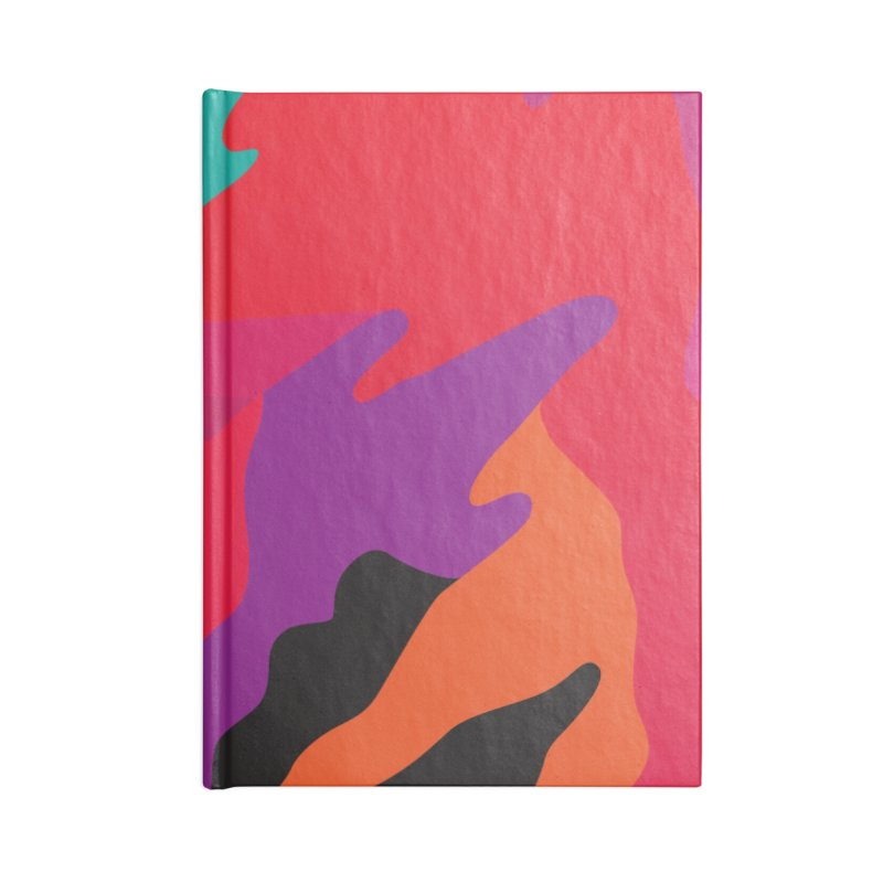 Pop Destruction Accessories Blank Journal Notebook by Joe Van Wetering