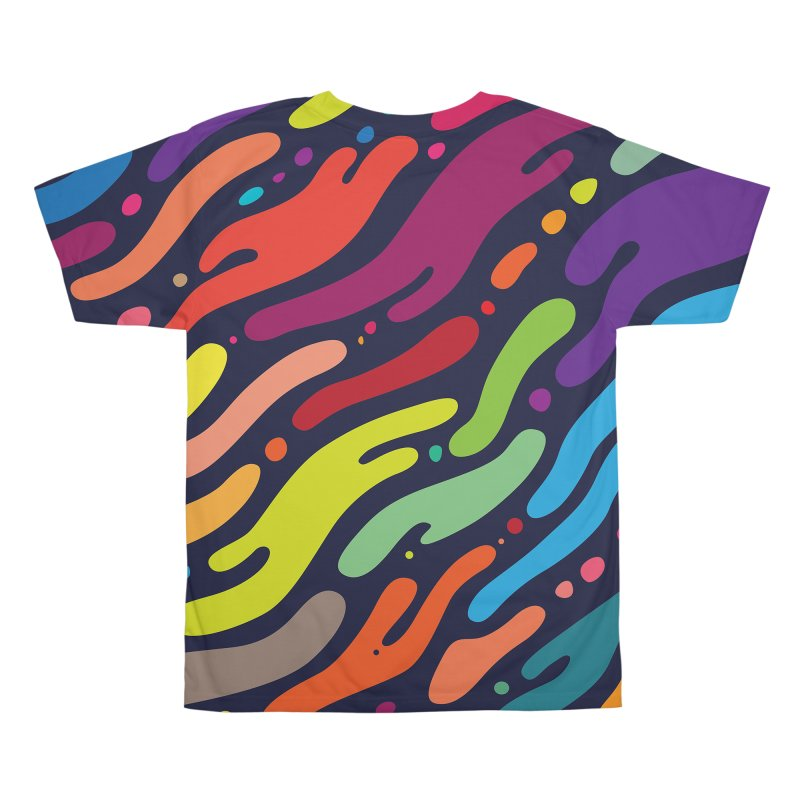 Ocean Floor Men's All Over Print by Joe Van Wetering
