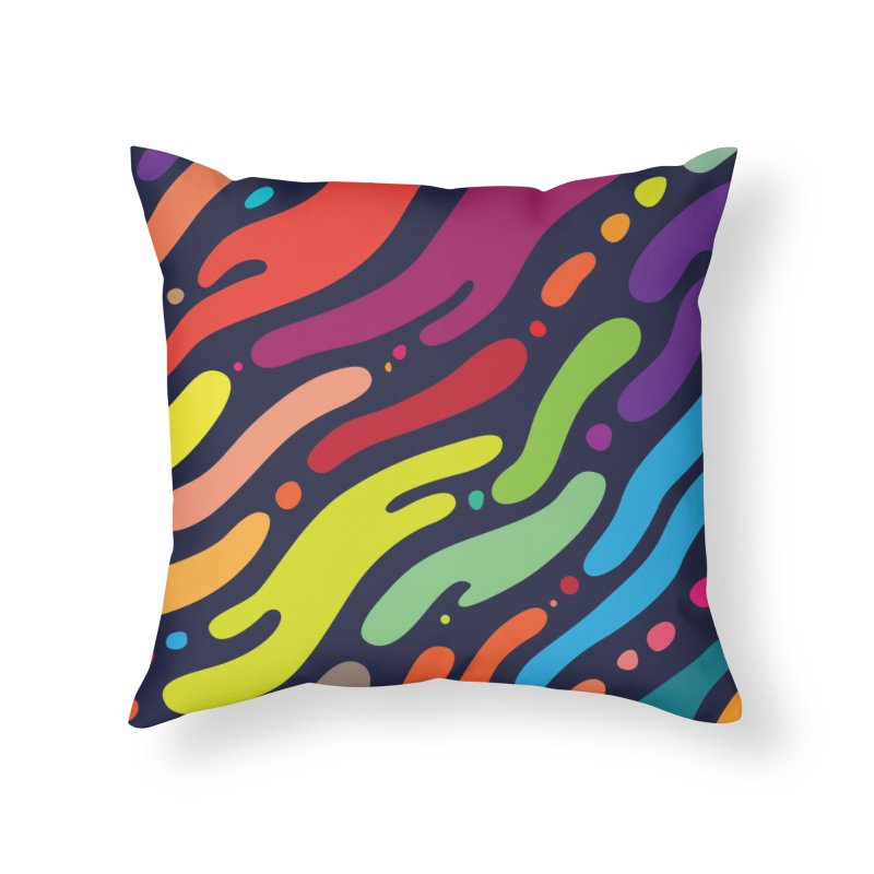 Ocean Floor Home Throw Pillow by Joe Van Wetering
