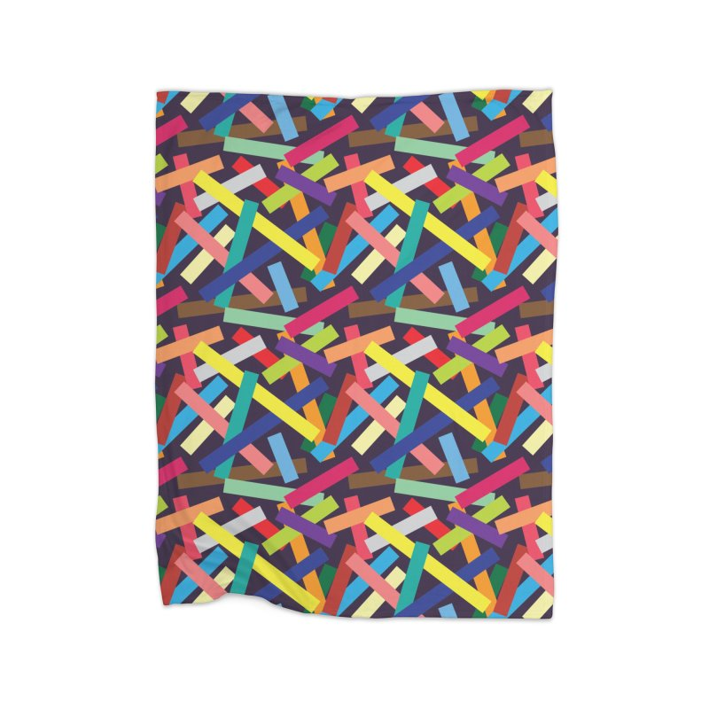 Confetti Home Fleece Blanket Blanket by Joe Van Wetering