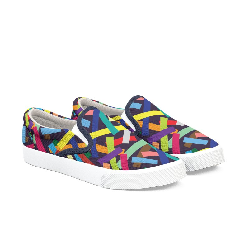 Confetti Men's Slip-On Shoes by Joe Van Wetering