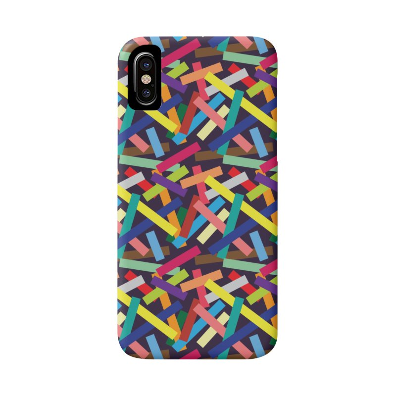 Confetti Accessories Phone Case by Joe Van Wetering