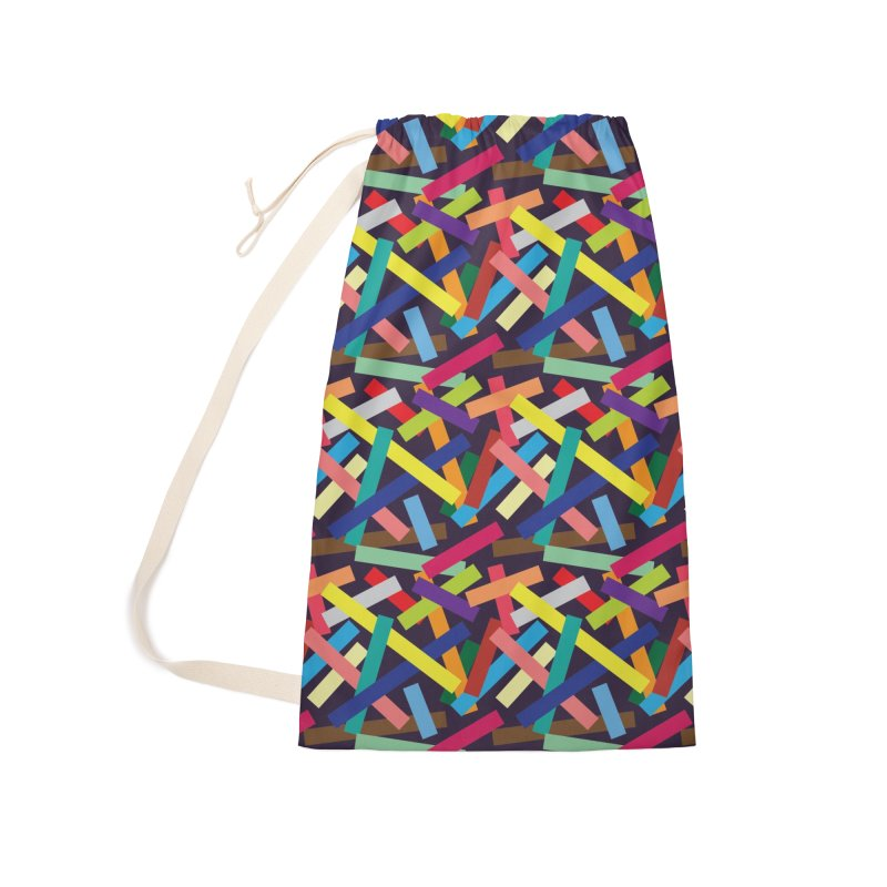 Confetti Accessories Laundry Bag Bag by Joe Van Wetering