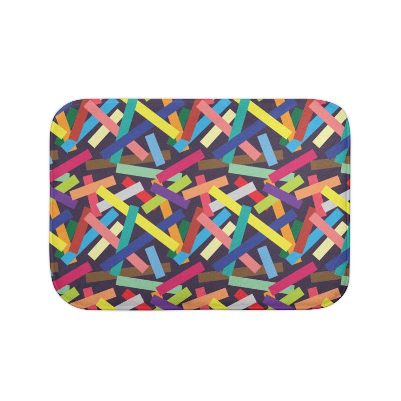 Confetti Home Bath Mat by Joe Van Wetering