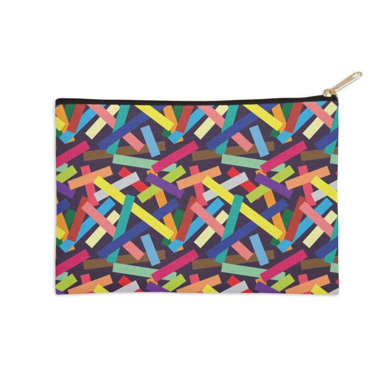 Confetti Accessories Zip Pouch by Joe Van Wetering