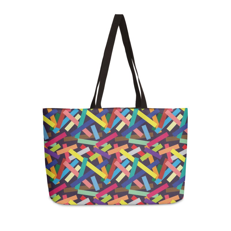 Confetti Accessories Weekender Bag Bag by Joe Van Wetering