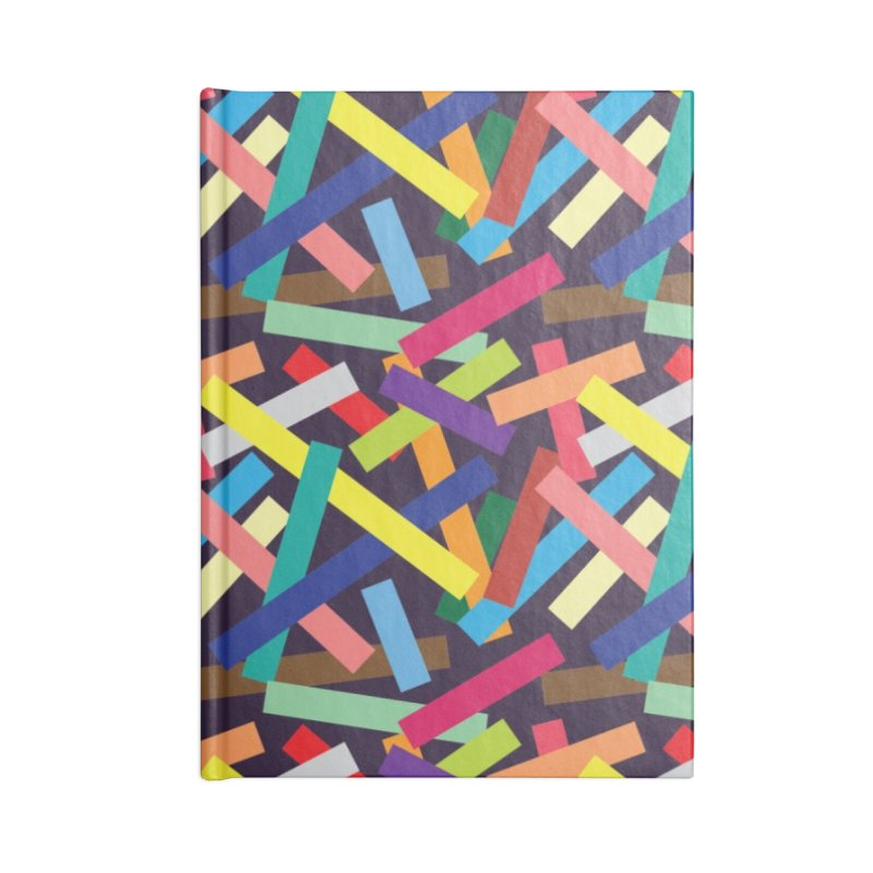 Confetti Accessories Blank Journal Notebook by Joe Van Wetering