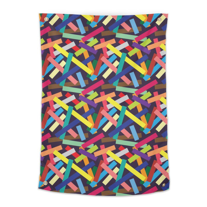 Confetti Home Tapestry by Joe Van Wetering
