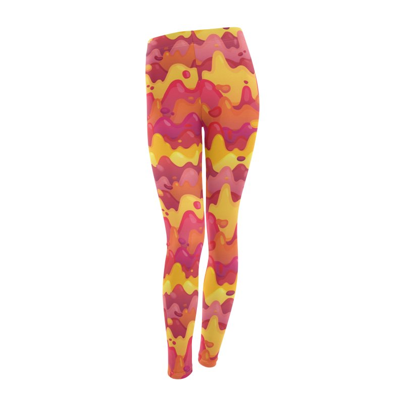Floor is Lava Women's Leggings Bottoms by Joe Van Wetering