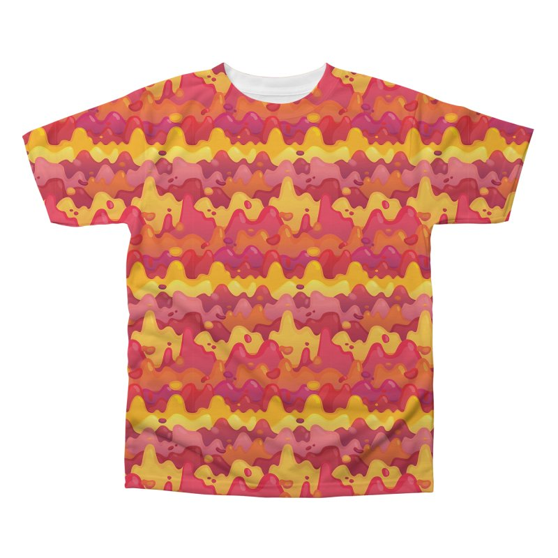 Floor is Lava Men's Regular All Over Print by Joe Van Wetering