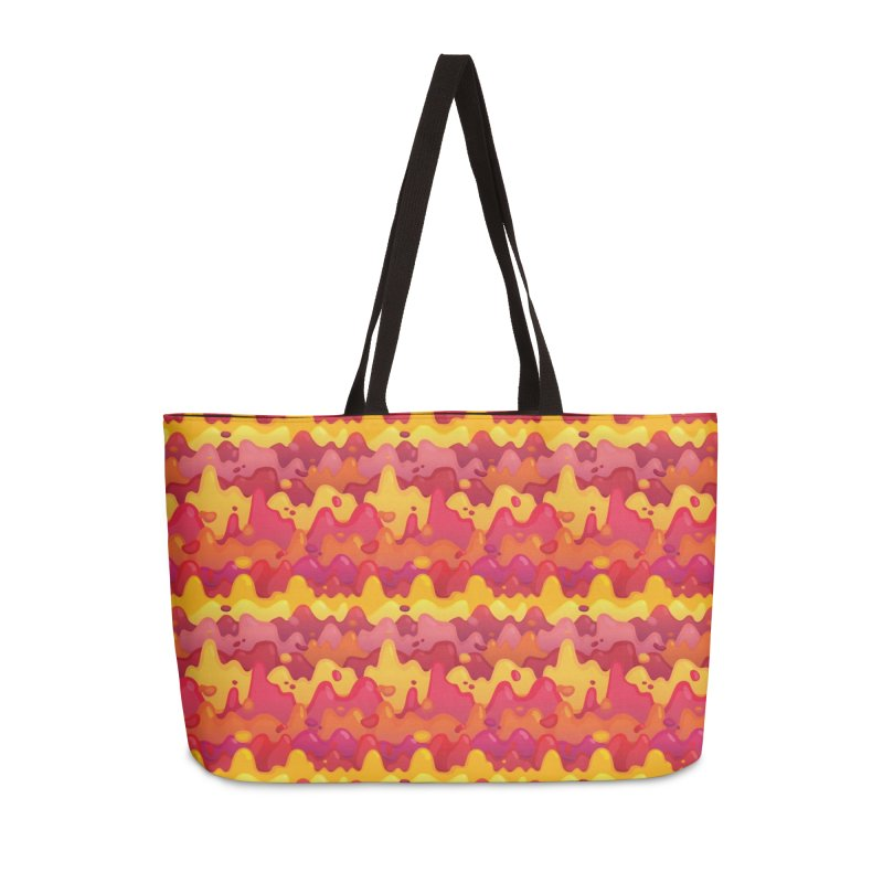 Floor is Lava Accessories Weekender Bag Bag by Joe Van Wetering