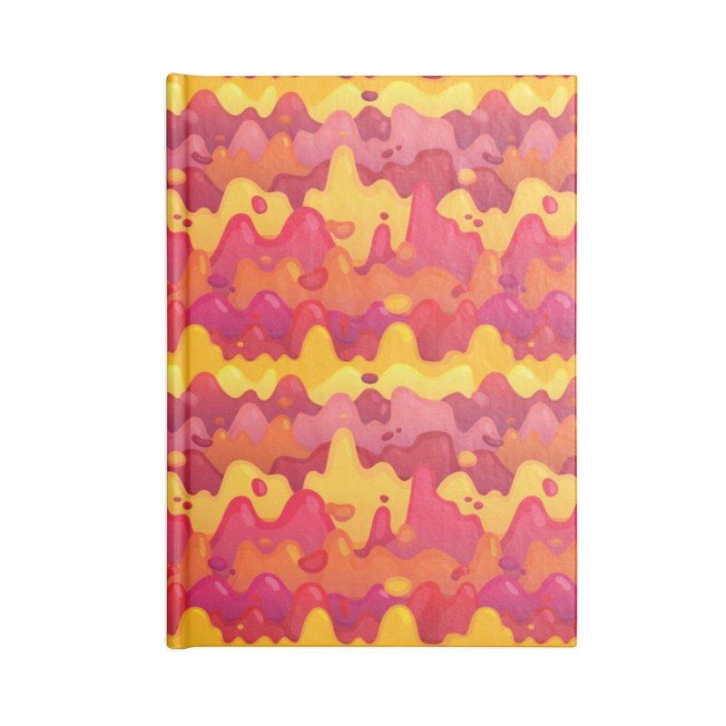 Floor is Lava Accessories Blank Journal Notebook by Joe Van Wetering