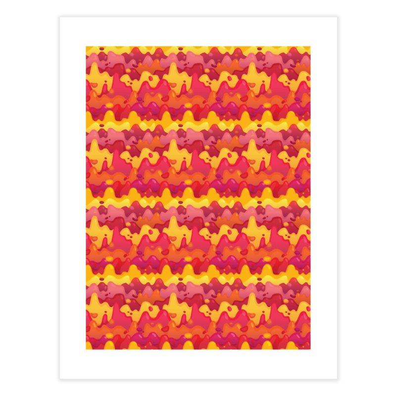 Floor is Lava Home Fine Art Print by Joe Van Wetering