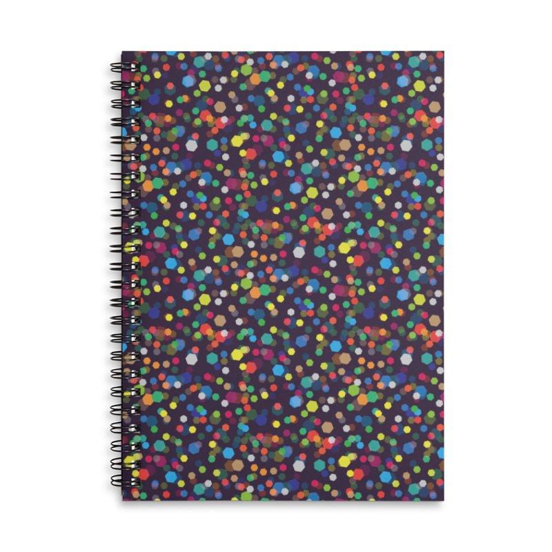 City Lights Accessories Lined Spiral Notebook by Joe Van Wetering
