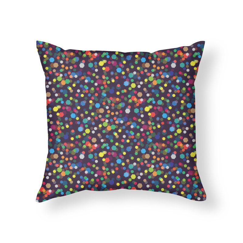 City Lights Home Throw Pillow by Joe Van Wetering