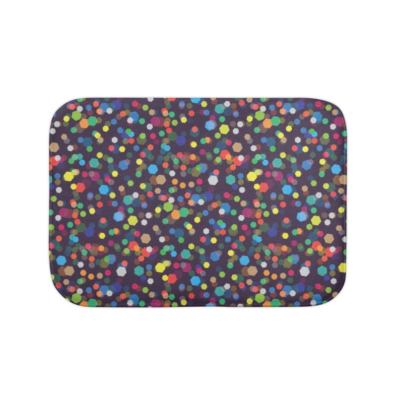City Lights Home Bath Mat by Joe Van Wetering