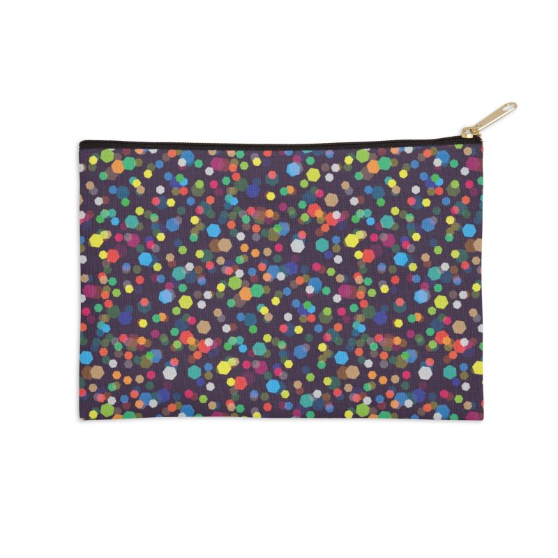 City Lights Accessories Zip Pouch by Joe Van Wetering