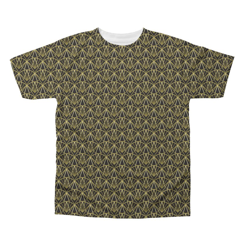 Deco Men's Regular All Over Print by Joe Van Wetering