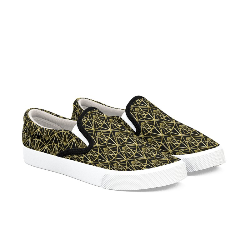 Deco Men's Slip-On Shoes by Joe Van Wetering