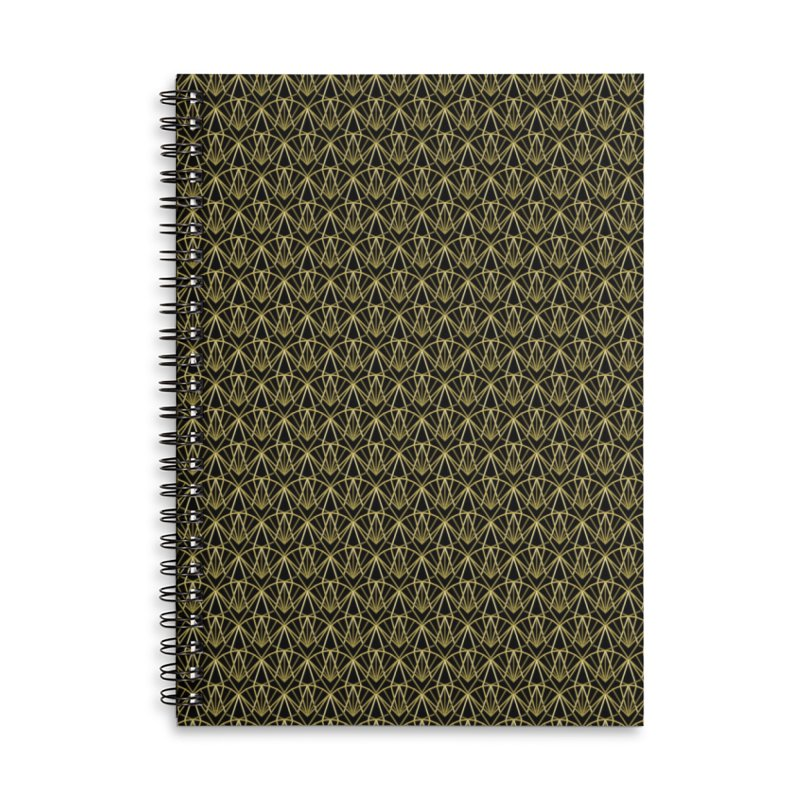 Deco Accessories Lined Spiral Notebook by Joe Van Wetering