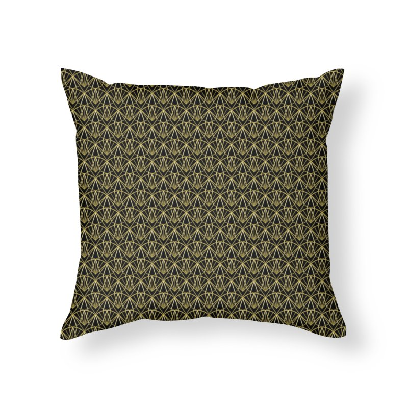 Deco Home Throw Pillow by Joe Van Wetering