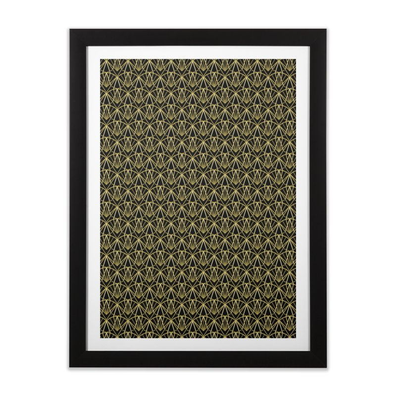 Deco Home Framed Fine Art Print by Joe Van Wetering