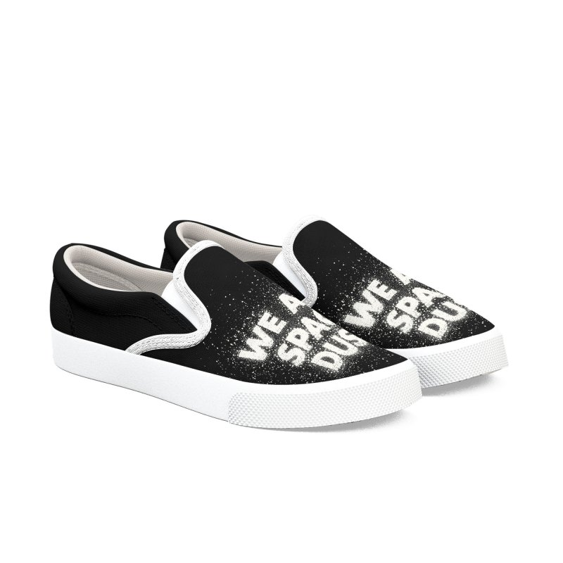 We Are Space Dust Men's Slip-On Shoes by Joe Van Wetering