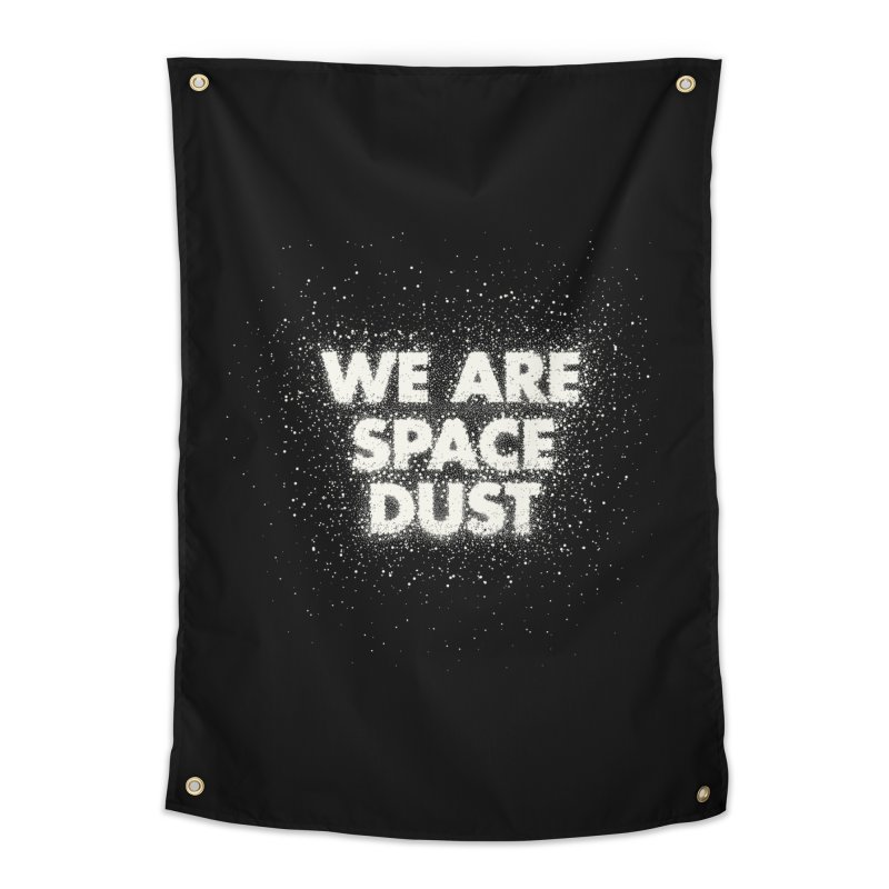 We Are Space Dust Home Tapestry by Joe Van Wetering