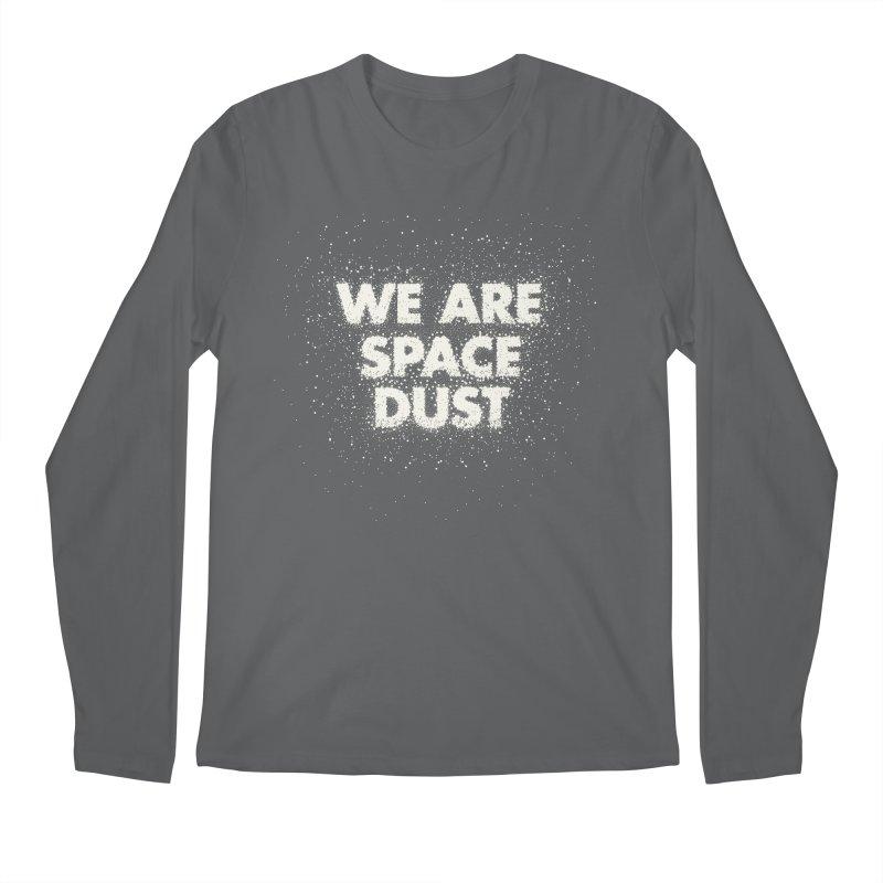 We Are Space Dust Men's Regular Longsleeve T-Shirt by Joe Van Wetering