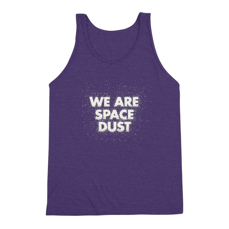 We Are Space Dust Men's Triblend Tank by Joe Van Wetering