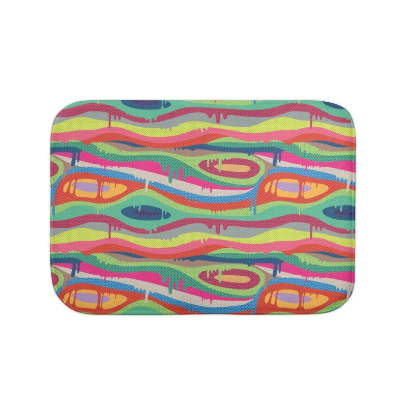 Pop Melt Home Bath Mat by Joe Van Wetering