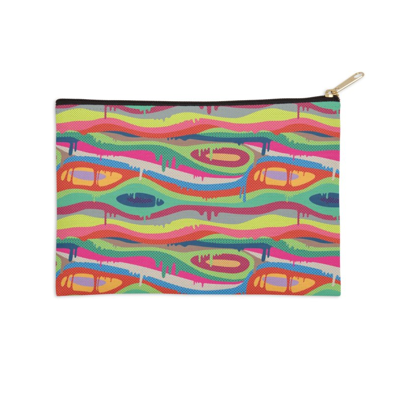 Pop Melt Accessories Zip Pouch by Joe Van Wetering