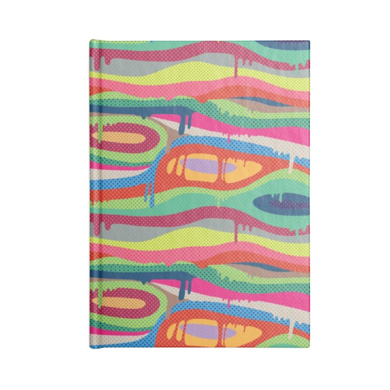 Pop Melt Accessories Lined Journal Notebook by Joe Van Wetering