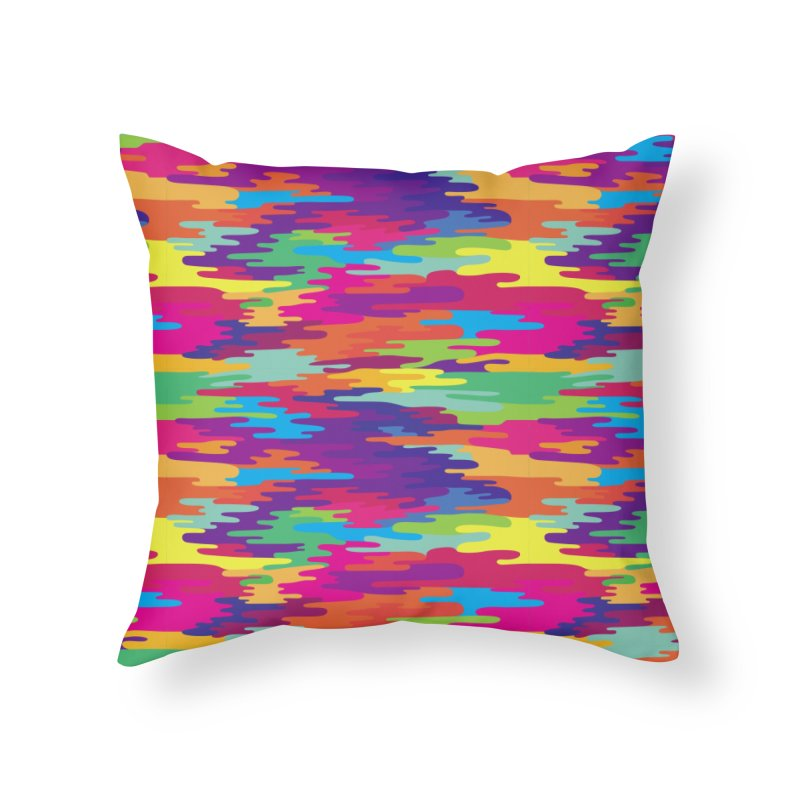 Saturated Smog Home Throw Pillow by Joe Van Wetering