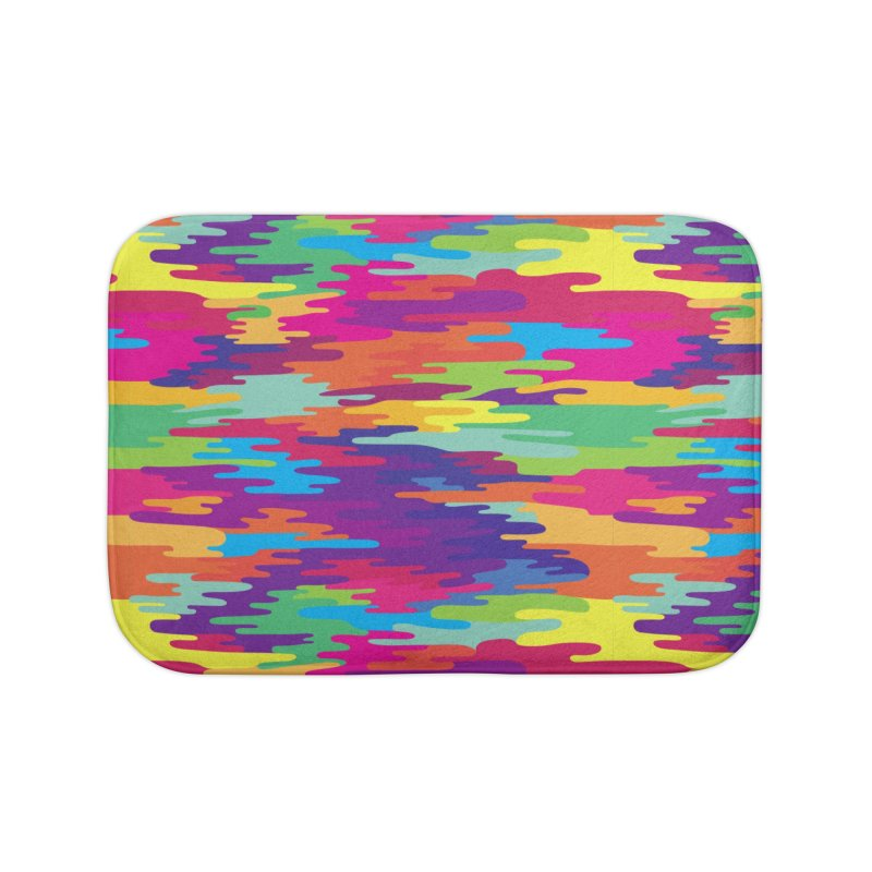 Saturated Smog Home Bath Mat by Joe Van Wetering