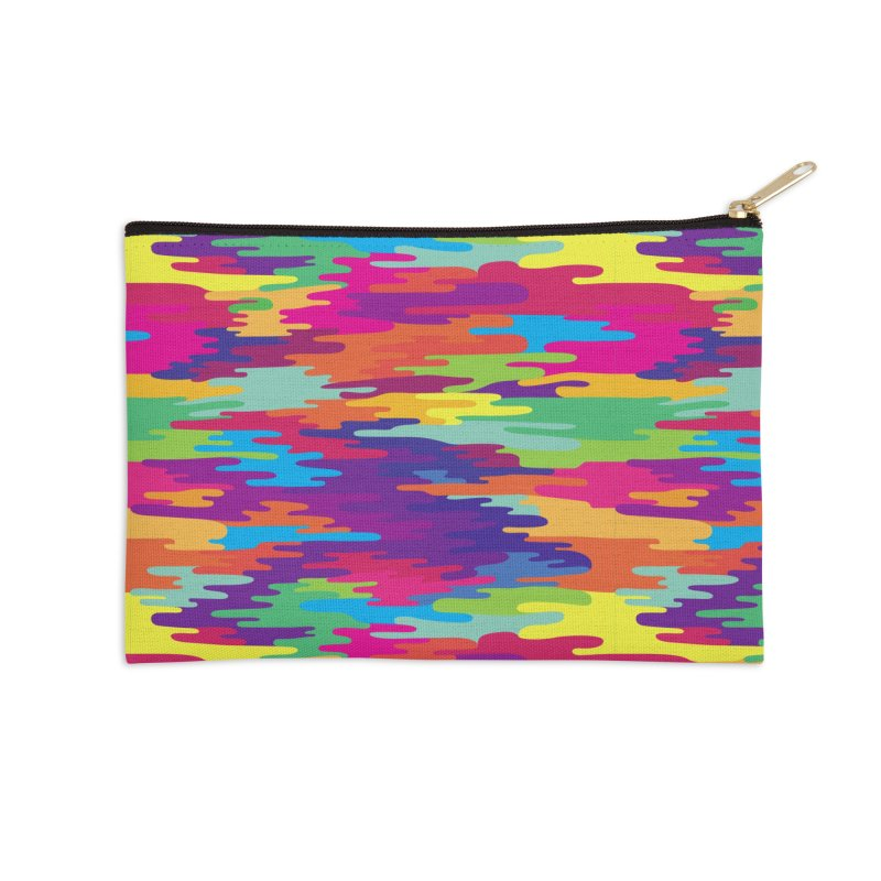 Saturated Smog Accessories Zip Pouch by Joe Van Wetering