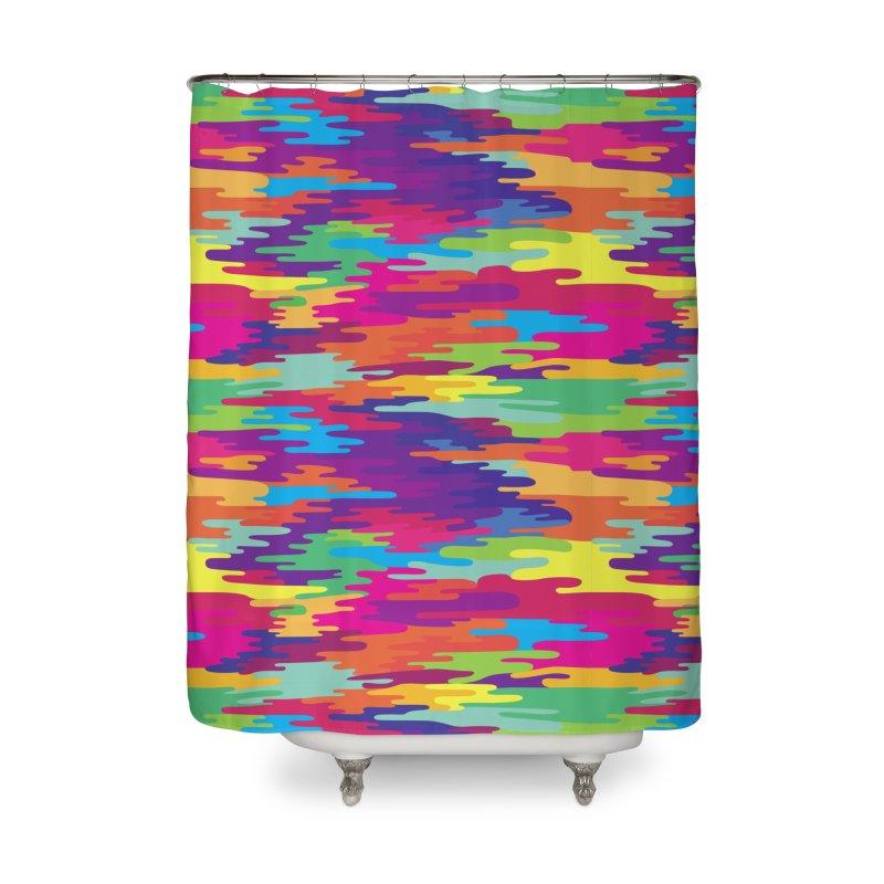 Saturated Smog Home Shower Curtain by Joe Van Wetering