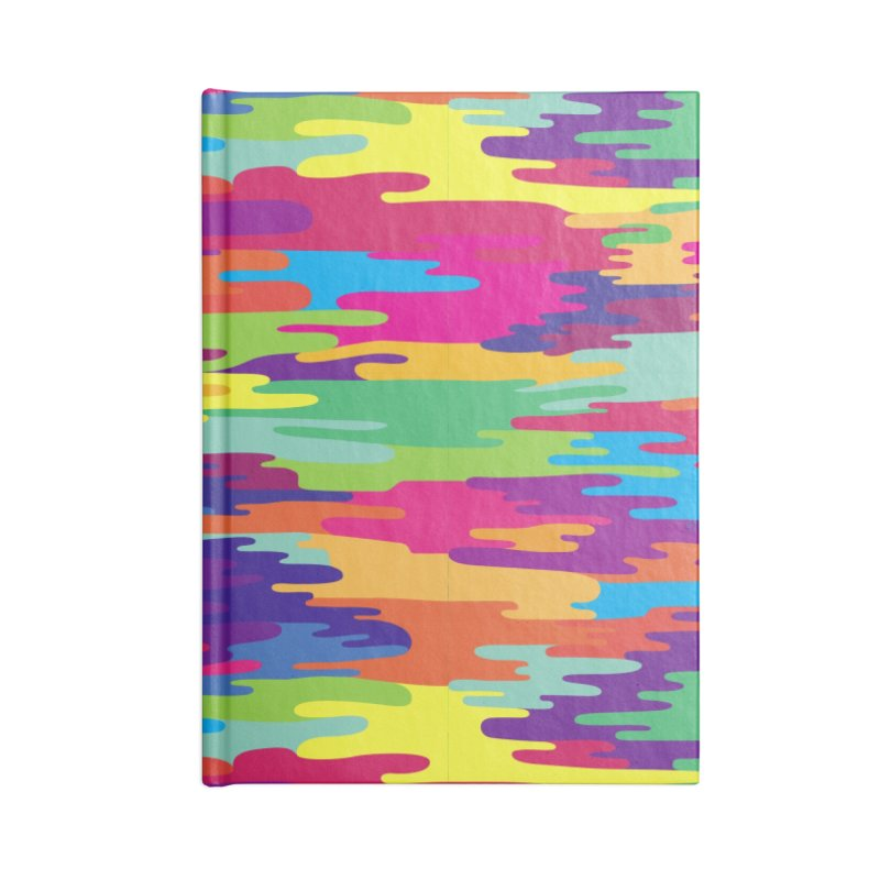 Saturated Smog Accessories Lined Journal Notebook by Joe Van Wetering