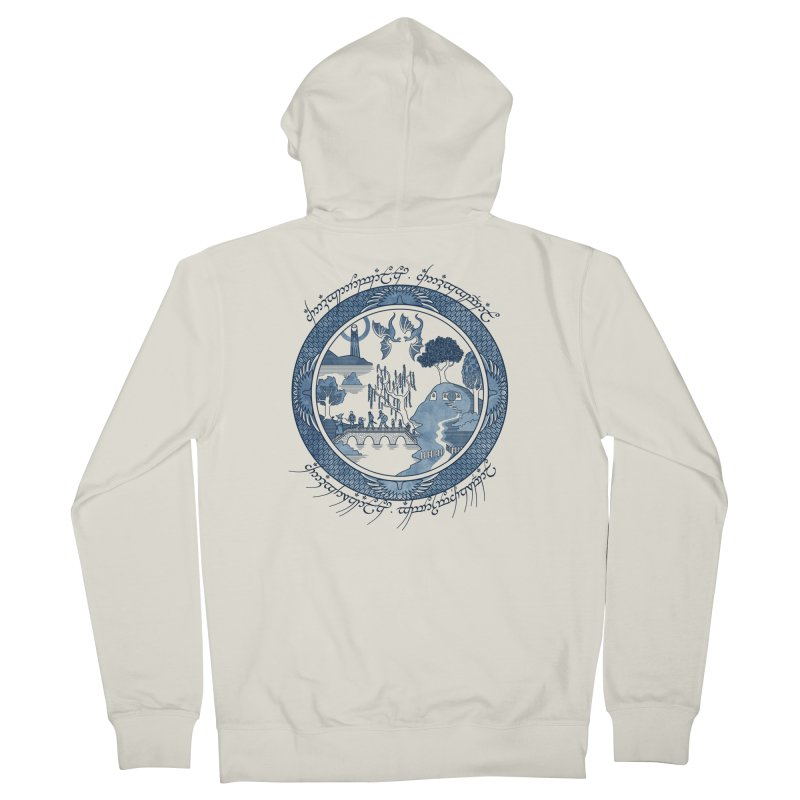 Fellowship of the Willow Men's Zip-Up Hoody by joewright's Artist Shop