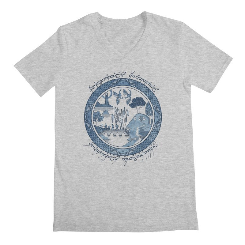 Fellowship of the Willow Men's V-Neck by joewright's Artist Shop