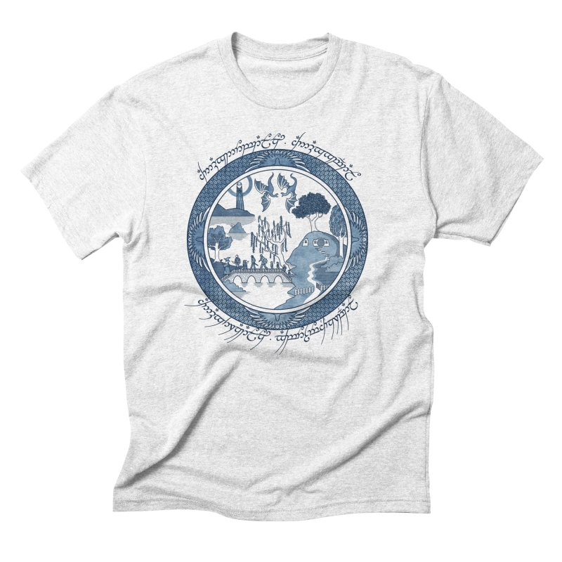 Fellowship of the Willow Men's Triblend T-shirt by joewright's Artist Shop