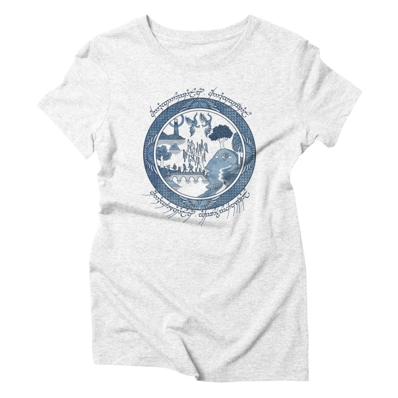 Fellowship of the Willow Women's Triblend T-shirt by joewright's Artist Shop