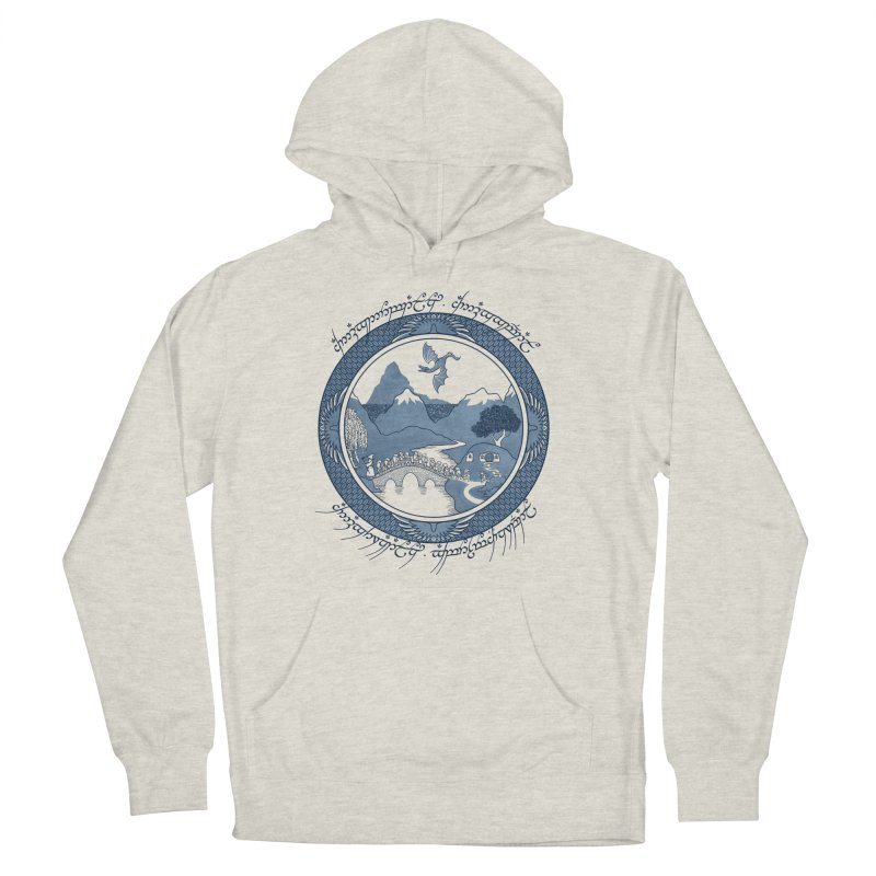There & Back Again Men's Pullover Hoody by joewright's Artist Shop