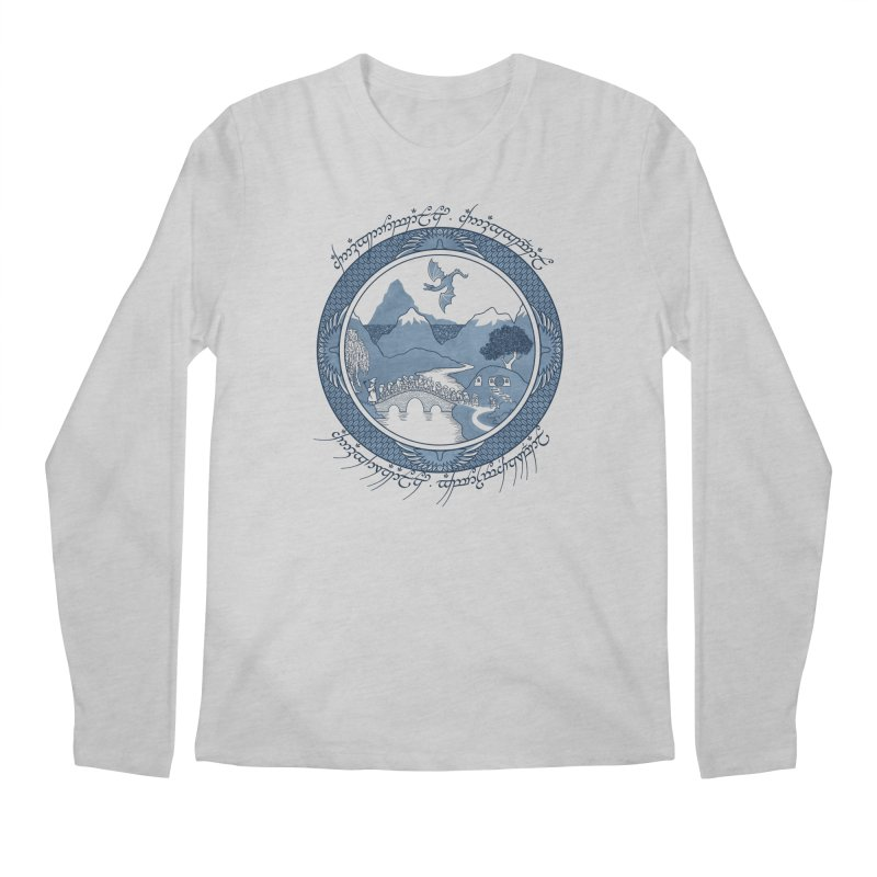 There & Back Again Men's Longsleeve T-Shirt by joewright's Artist Shop