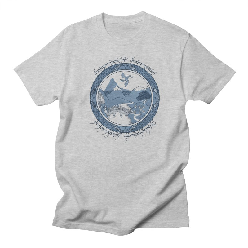 There & Back Again Men's T-shirt by joewright's Artist Shop